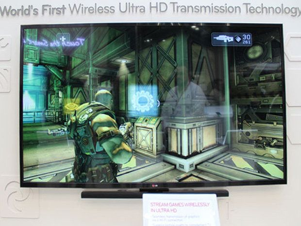 MWC 2013 : LG et sa technologie streaming Ultra HD sans-fil